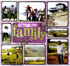 Heartfelt Creations | Family Fun Times Layout