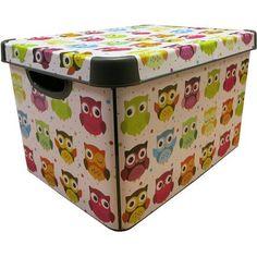 Curver Owl Storage Box 22 Litre