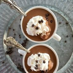 Hot Chocolate in the Slow Cooker. Add peanut butter or cinnamon, or mint. This is the only recipe you need!