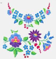 hungarian embroidery flowers - Google Search