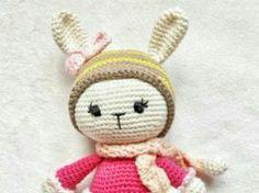 Amigurumi Örgü Oyuncak Modelleri – Amigurumi Minik Tavşancık Modeli Tarifi ( Anlatımlı )