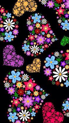 Cuori fioriti