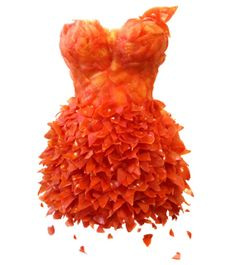 Innova Design: Delicious Dress of tomatoes.