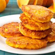 Lekker oranje eten: Pannenkoekjes met pompoen recept