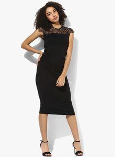 60759827dd6 Buy DOROTHY PERKINS Maternity Lace Yoke Bodycon Dr Online - 3229559 - Jabong