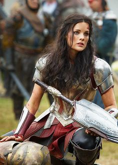 If I ever decided to fight... (chick from Thor movie)