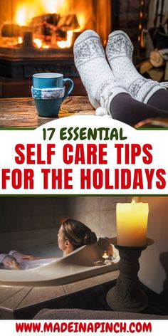 17 tips for self care during the holidays. Stay stress-free during the holiday season and enjoy Christmas more with these easy self care tips! Self Care Activities, Activities For Kids, Stress Free, Stress Relief, Healthy Kids, Healthy Living, Holiday Stress, Parenting Advice, Christmas Holiday