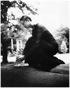 """Impero"" Jaime Rishar photographed by Arthur Elgort for Vogue Italia October 1993"