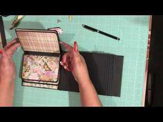 6x6 Mini Album Kirby Teesdale by Paper Studio Part 2
