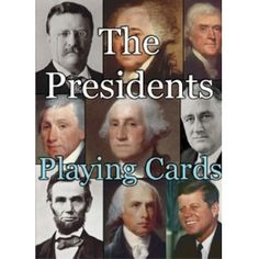 Playing Cards : The Presidents