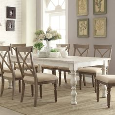 Riverside Aberdeen Rectangular Dining Table - Kitchen & Dining Room Tables at Hayneedle