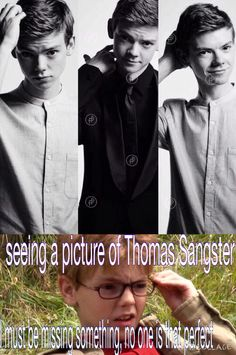 if you look up the definition for perfect, it would have a picture of Thomas Sangster