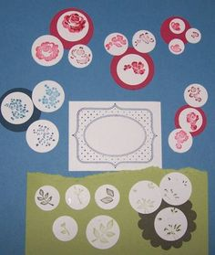 Baby Blossoms Index Card by galleryindex - Cards and Paper Crafts at Splitcoaststampers