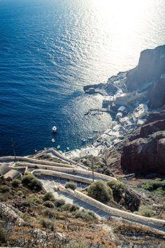 Ammoudi port, Oia, Santorini, Greece