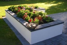 Concrete Block Raised Bed Garden | Ken Lomax Landscaping » Raised Gardens More