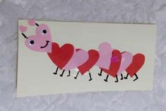 DIY: Valentijnskaarten maken met kinderen - Mamaliefde Popsicle Stick Crafts, Craft Stick Crafts, Preschool Crafts, Diy Crafts For Kids, Paper Crafts, Decorated Gift Bags, Boyfriend Crafts, Valentines Art, Valentine's Day Diy