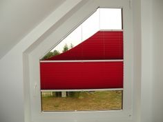 Pleated blinds for triangular windows – type 2 | Domus Lumina