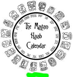 mayan calendar symbols - Google Search