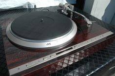 JVC QL-Y5F direct drive automatic turntable vinyl LP record player (OWN)
