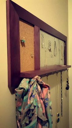 Hey, I found this really awesome Etsy listing at https://www.etsy.com/listing/269271474/jewelry-wall-display