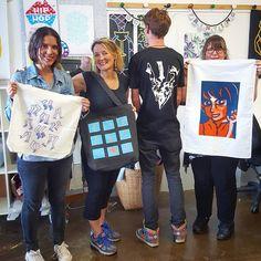 Tea Towels, Screen Printing, Indigo, Printer, Hip Hop, Ink, Tees, Instagram, Screen Printing Press