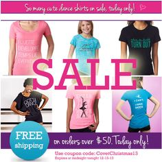 Super Holiday Dance Sale-Today Only! Get great prices on adorable dance gifts PLUS free shipping until midnight - coupon code: CovetChristmas13