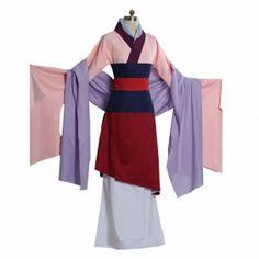 Disney Fa Mulan Cosplay Costume