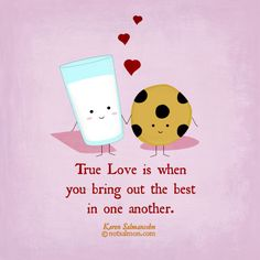 True #love is when you bring out the best in one another. #notsalmon