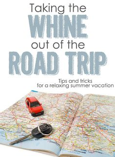 road trip with kids and great ideas to use for around my house too.