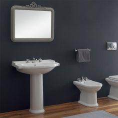 Lavabo con colonna 74x50 cm Harmony Toilet, Sink, Home Decor, Sink Tops, Flush Toilet, Vessel Sink, Decoration Home, Room Decor, Vanity Basin