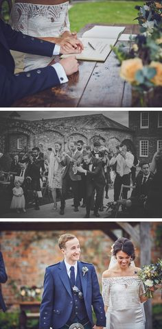 Some of our favourite photos from Emma and Ross's laughter-filled wedding day at the stunning Kingston Estate in Devon by team of two documentary wedding photographers Nova Emma Ross, Wedding Ceremony, Wedding Day, Kingston, Devon, Documentaries, Nova, Groom, Wedding Photography