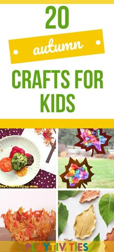 I gathered 15 amazing autumn crafts for kids! Easy, low-prep and relaxing activities for kids that are made by colorful and beautiful autumn goods. #autumncraftsforkids #autumncrafts #natureinspiredcrafts #coolideasforkids #diyideasforkids #funactivitiesforkids #natureinspiredactivitiesforkids #outdooractivities Easy Fall Crafts, Thanksgiving Crafts For Kids, Cute Crafts, Crafts To Make, Fun Activities For Toddlers, Autumn Activities, Crown For Kids, Hedgehog Craft, Messy Play