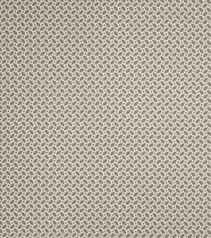 # 11807047  reg. 34.99 SALE 17.49  50% off Eaton Square Fabrics  54'' Wide. Vertical Repeat 12'', Horizontal Repeat 13''. 100% Polyester. Depending on stain, use a water-based solution, dry-cleaning solvent or upholstery shampoo.. Made in the USA.