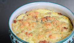 Clafoutis de chou fleur au jambon Weight Watchers, un clafoutis salé, et léger, très facile à réaliser et idéal à déguster en entrée ou en plat principal