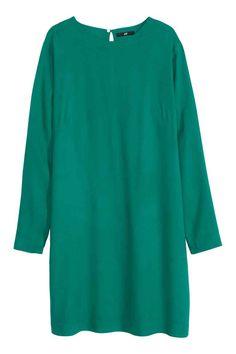 Vestido de mangas compridas   H&M