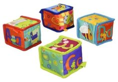 Grab-amp-Stack-Block-Toy-Bright-Starts-Soft-Baby-Toy-Cute-Soft-Blocks-3D-Features