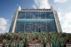 Mexico City: José Vasconcelos Library, designed by architect Alberto Kalach