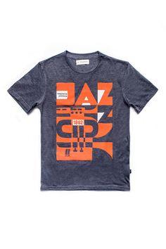 Jazz męska koszulka | Pan tu nie stał