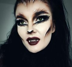 wolf inspired halloween makeup hairstyle ideas for black women Halloween costumes Halloween decorations Halloween food Halloween ideas Halloween costumes ...