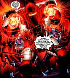 Gavril Ivanovich is a member of the Rocket Red Brigade, Russia's premier super-hero protectors in high-tech battle armor. In his identity as Rocket Red he leaves his military duties and becomes a member of Justice League International.