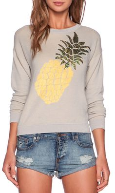fun pineapple sweater