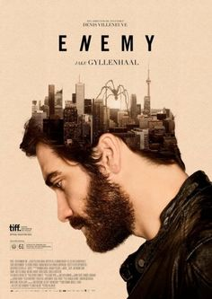 Enemy looks a little like True Detective too. I like the picture blending and a reference to brain/mind