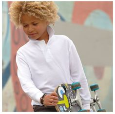 Cool Popped Collar, T Shirt And Shorts, Polo Shirts, Kids, How To Wear, Fashion, Young Children, Moda, Boys