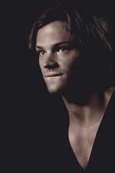 Jared Padalecki – And thus my V-neck obsession grows stronger.