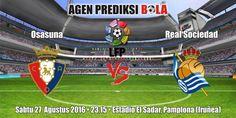 Prediksi Bola Osasuna vs Real Sociedad 27 Agustus 2016