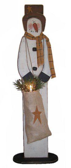 109 Best Wooden Snowman Crafts Images In 2018 Snowman Crafts