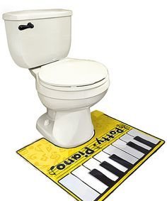 Another great find on #zulily! 'The Potty Piano' Musical Floor Mat by BigMouth Inc. #zulilyfinds