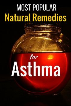 Before using conventional medicine, try out these popular natural remedies for asthma! #remedies #asthma #naturalremediesforheadaches