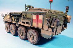 M1133 Stryker MEV (Vehículo de Evacuación Médica)