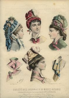 1877-1878 ... LES NOUVEAUTES PARISIENNES magazine engravings